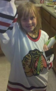 Newest Blackhawks Fan